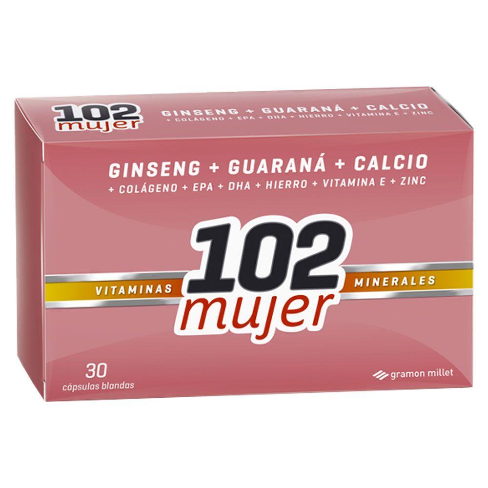 Vitaminas de hierro para mujeres