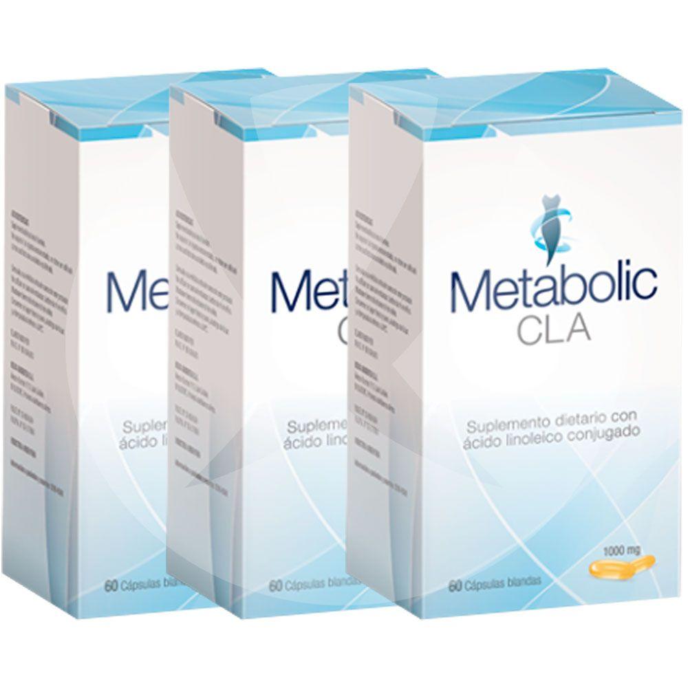 Suplemento para adelgazar metabolic cla