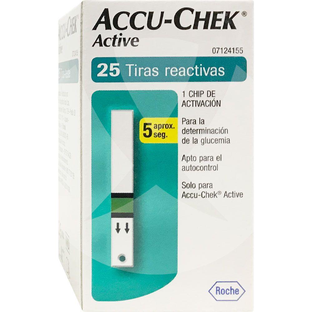 bbd2a5b60 Accu-chek active tiras reactivas determinación de glucosa - Farmacia ...