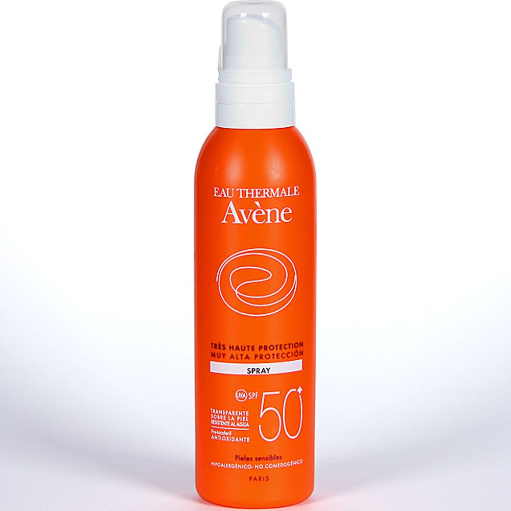 Avene solar spf50+ spray x 200ml