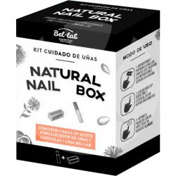 Bel lab natural nail box kit cuidado uñas