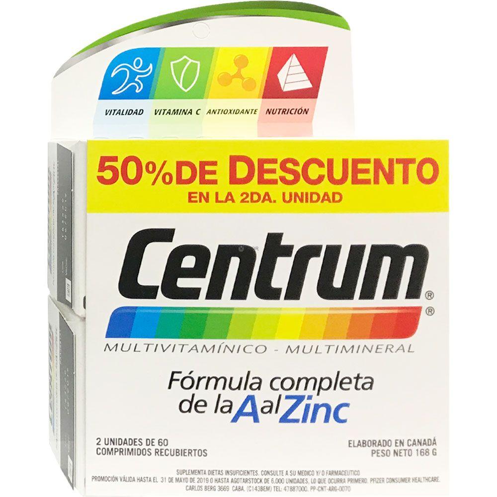 92d6d2845bb2 Centrum multivitamínico x 120 comprimidos - Farmacia Leloir - Tu ...