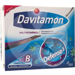 Davitamon Defense 3 Multivitamínico x 30 caps