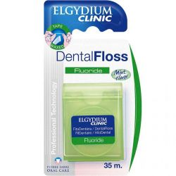 Elgydium clinic fluoride hilo cinta dental x 35m