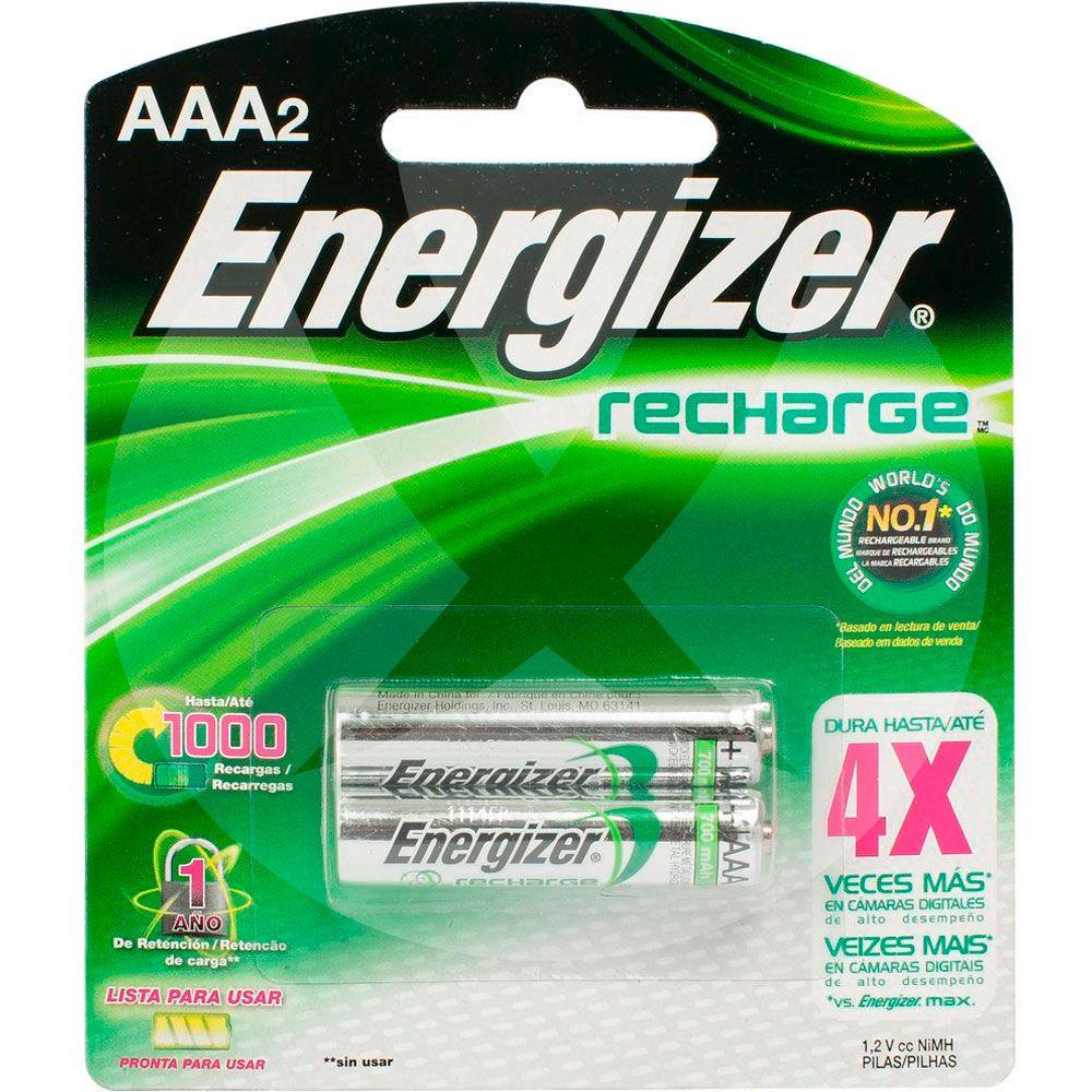 Energizer pilas recargables aaa x 2 farmacia leloir tu - Pilas recargables aaa ...