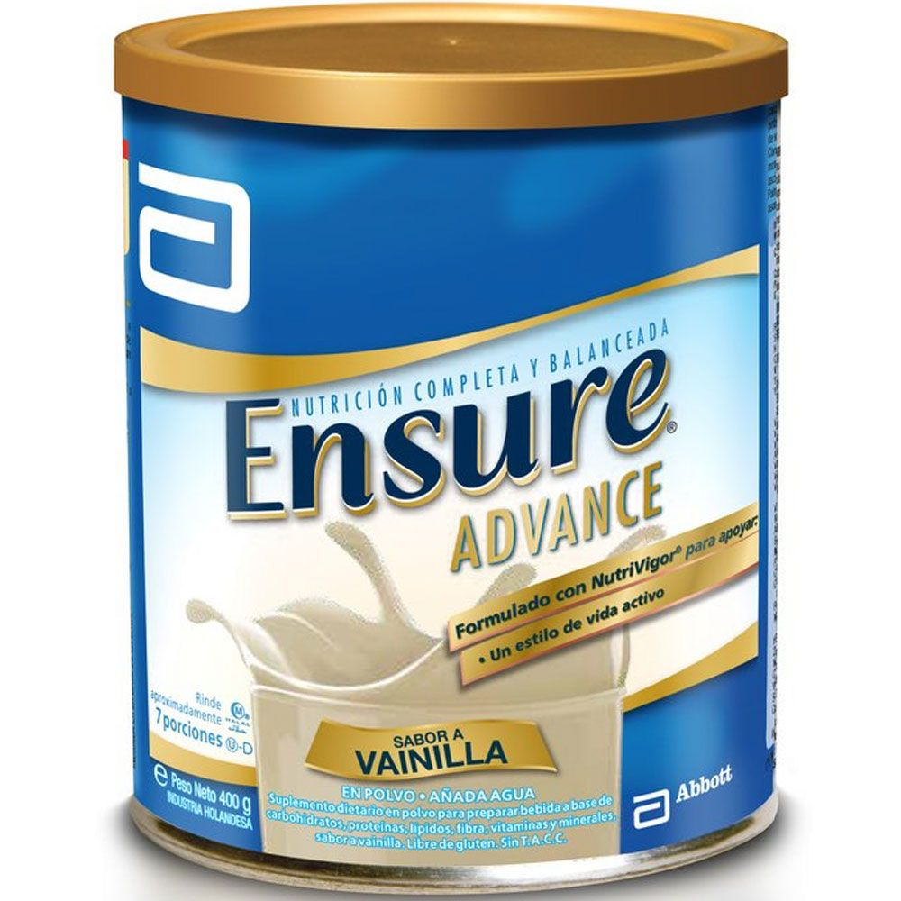 Ensure advance polvo sabor vainilla