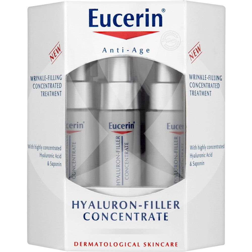 Eucerin hyaluron filler concentrate 6 x 5ml