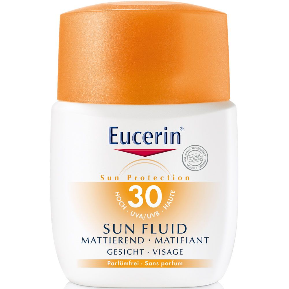 Eucerin sun fps30 fluido matificante facial x 50ml