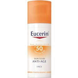 Eucerin sun fps50 fluido antiedad facial x 50ml