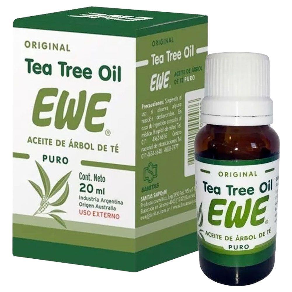 Ewe Tea Tree Oil Aceite De árbol De Té Puro Original X 20ml Farmacia Leloir Tu Farmacia Online Las 24hs