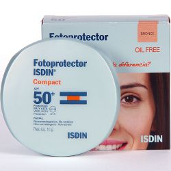Fotoprotector isdin spf50+ compacto oil free