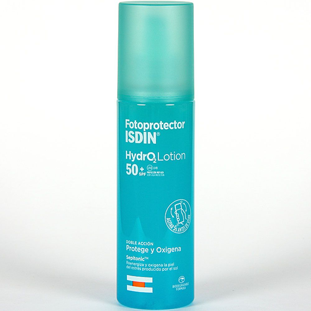 Fotoprotector isdin spf50+ hydro lotion x 200ml