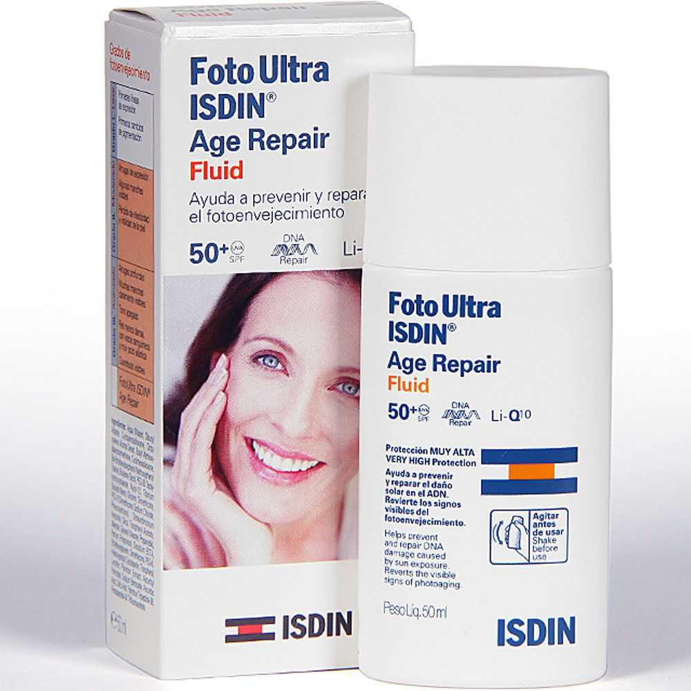 Fotoultra isdin spf50+ age repair fluid x 50ml