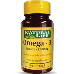 Good n natural omega-3 fish oil 1000mg x 60 caps