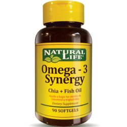 Good n natural omega-3 synergy x 90 cápsulas