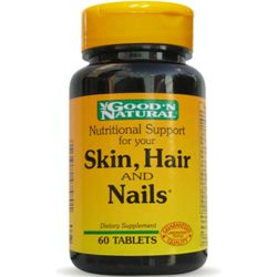 Good n natural skin hair and nails x 60 tabletas