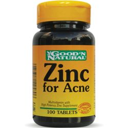 Good n natural zinc for acne x 100 comprimidos
