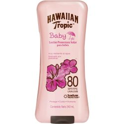 Hawaiian tropic baby loción fps80 x 240ml
