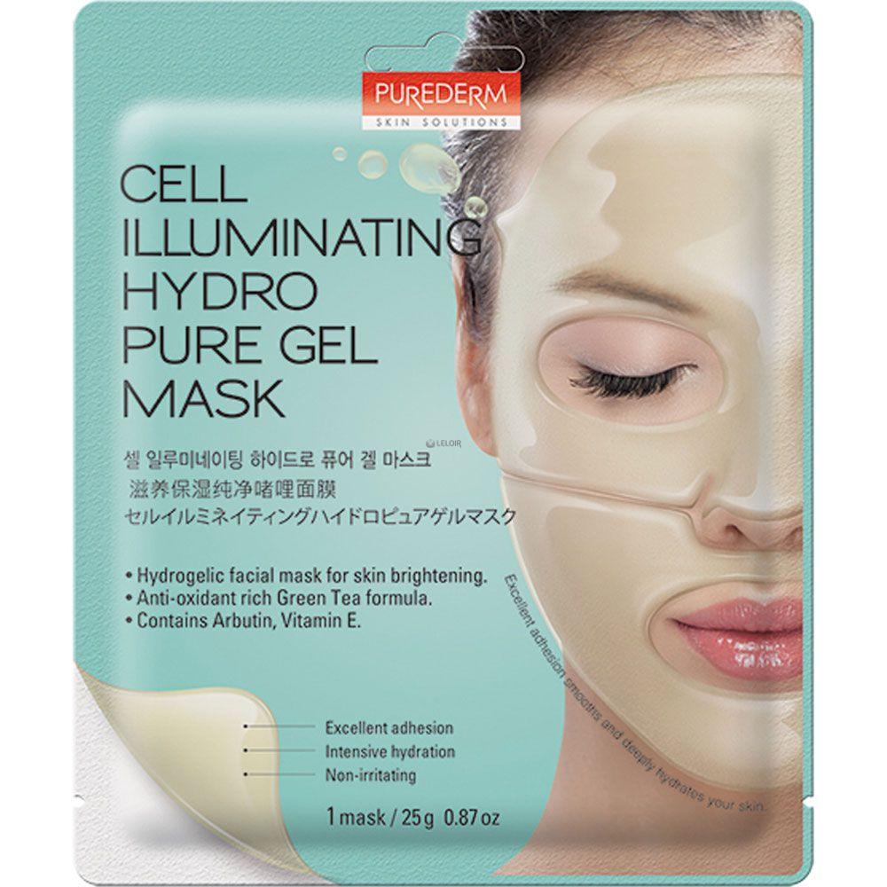Purederm Mscara Hydro Pure Gel Iluminadora Farmacia Leloir Tu Eye Mask Cell Illuminating
