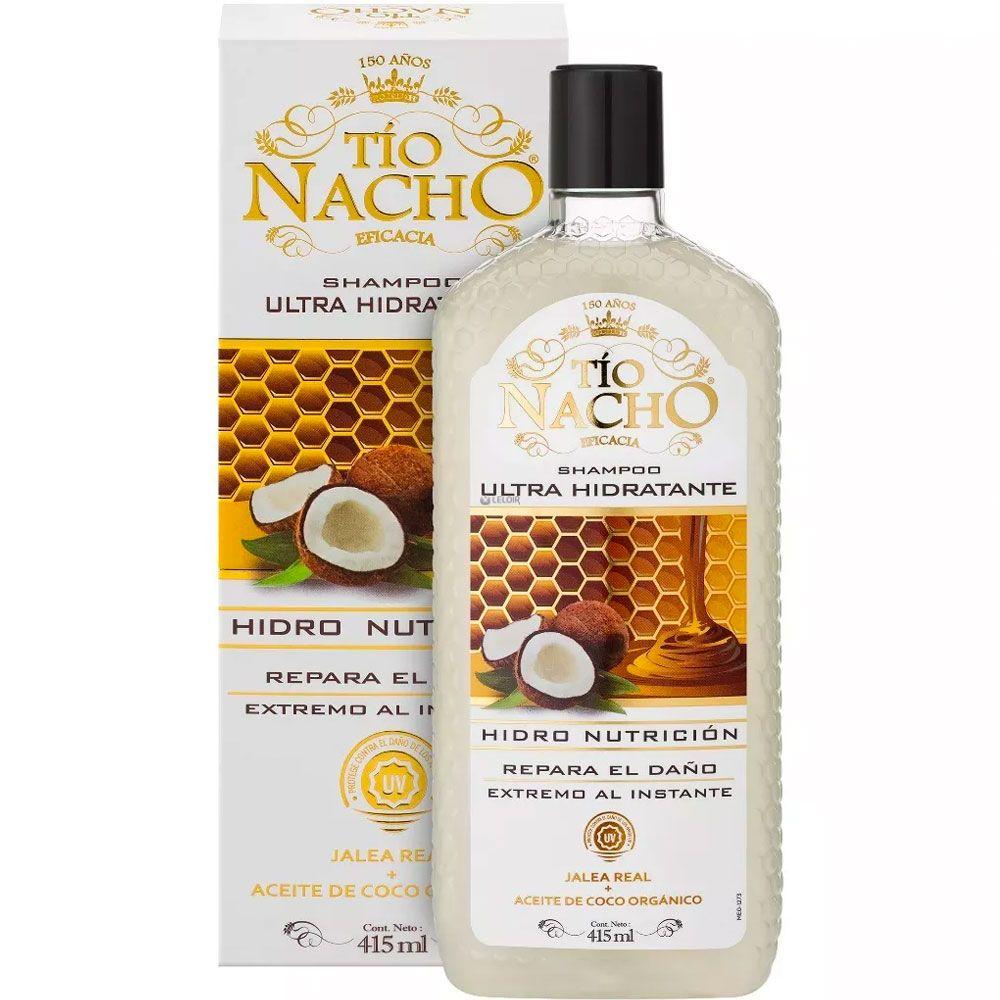 Tío Nacho Ultra Hidratante Shampoo X 415ml Farmacia Leloir Tu