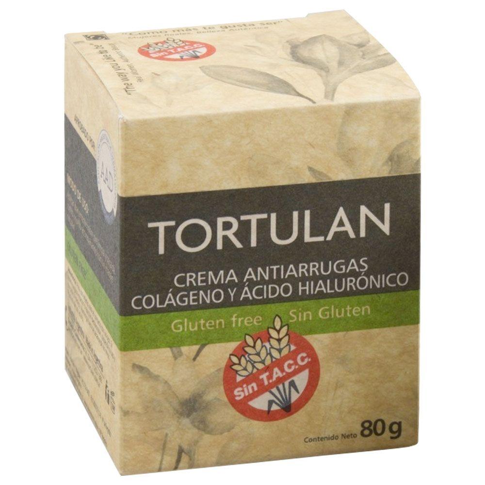 Tortulan crema antiarrugas colágeno y acido hialurónico..