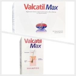 Valcatil max 120 caps + valcatil max shampoo 300ml