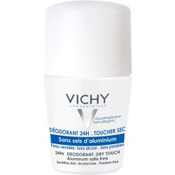 Vichy desodorante roll on sin sales aluminio