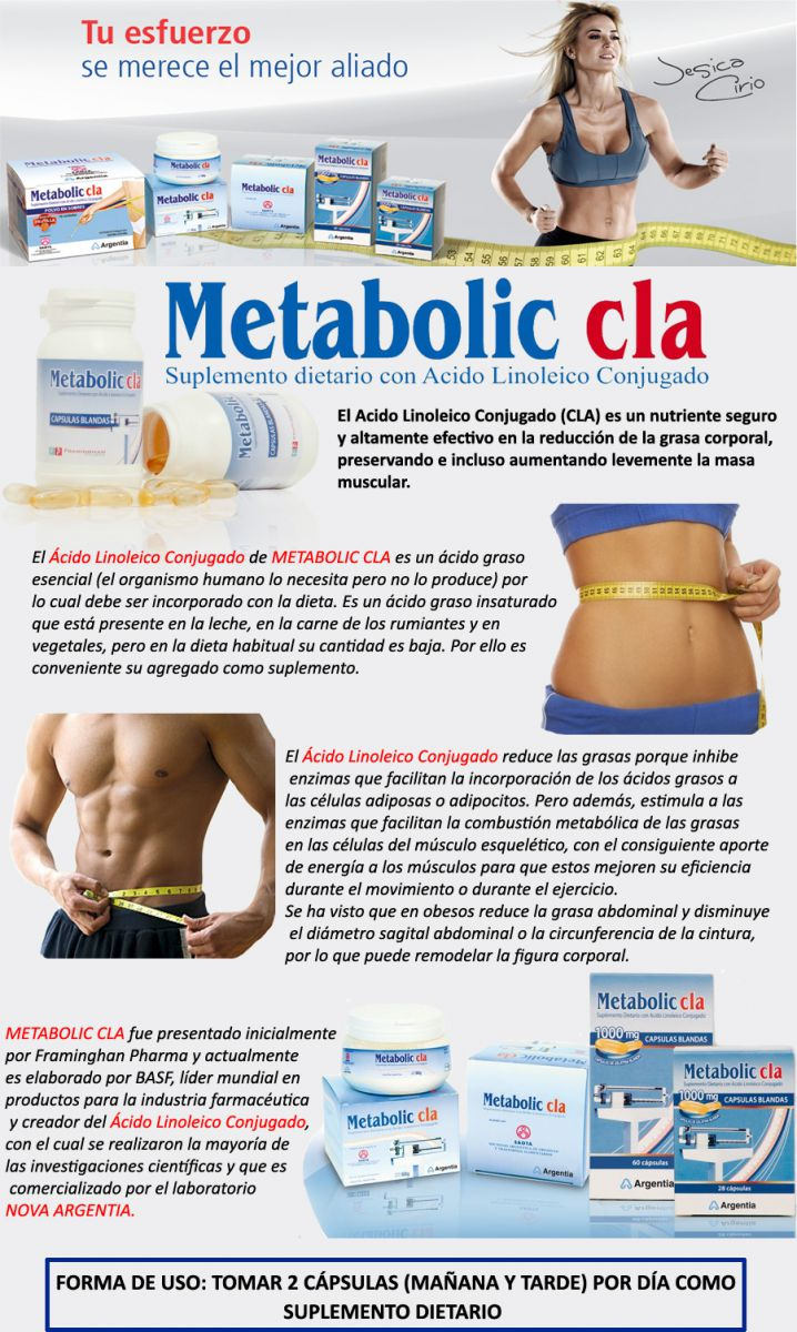 Metabolic cla efecto rebote